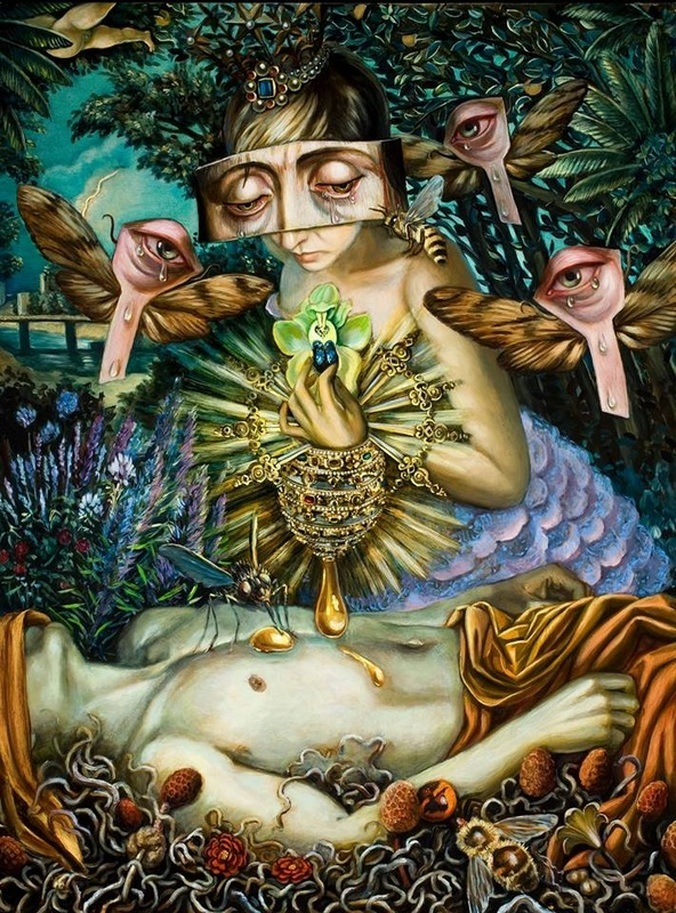 Perilous Compassion of the Honey Queen by Carrie Ann Baade