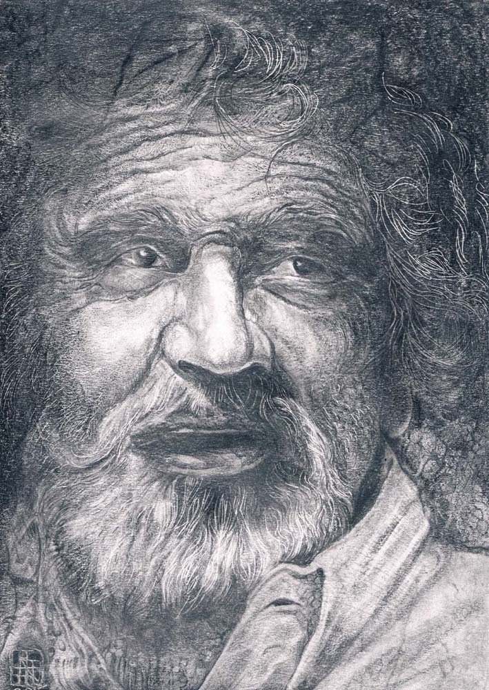 SELFPORTRAIT – graphite on paper, 2016, 21×30 cm