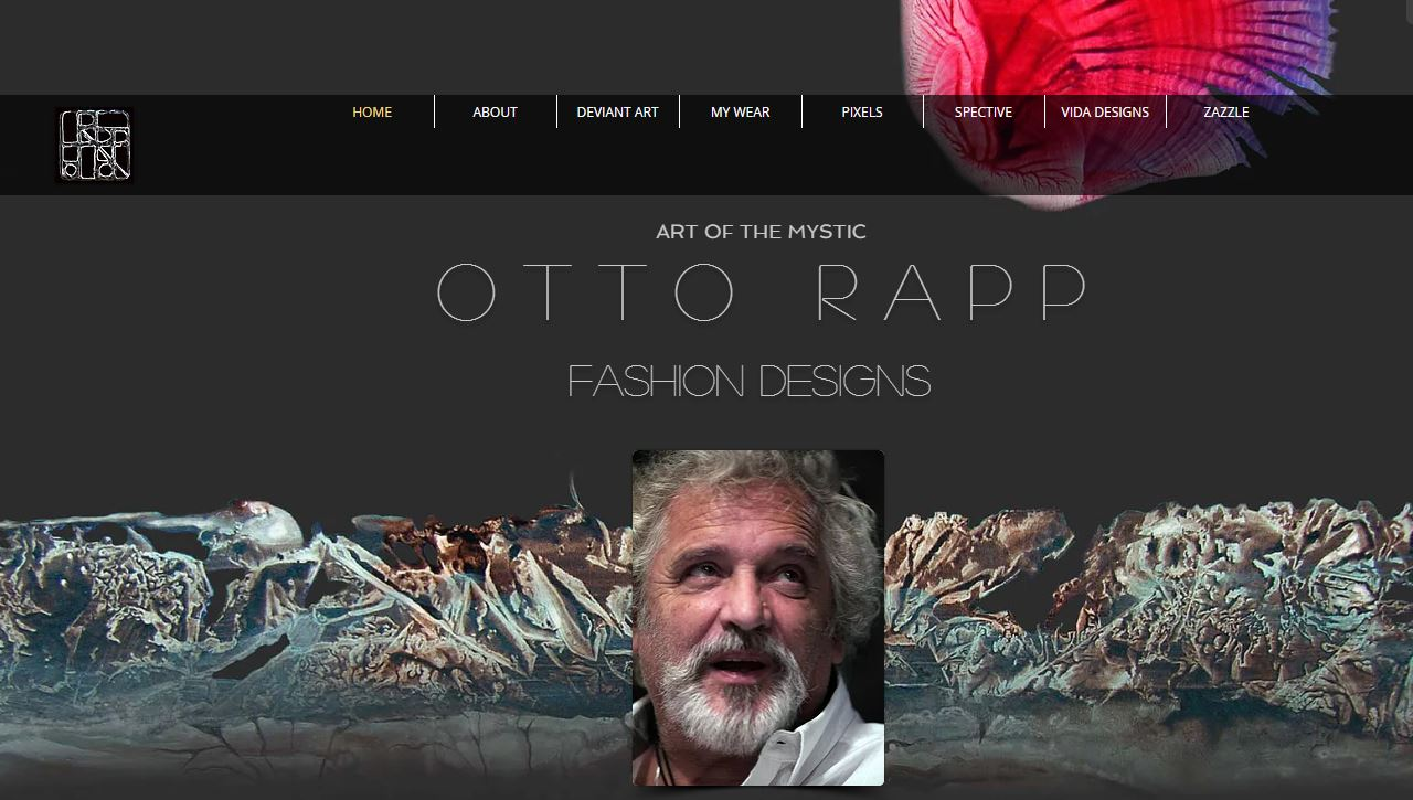 ART OF THE MYSTIC OTTO RAPP FASHION DESIGNS